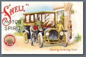 Shell Postcard - Speeding the Parting Guest